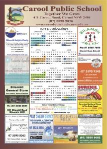 Carool public school 2016 Calendar copy